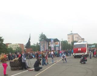 Спортивные мероприятия прошли в День молодёжи в Уссурийске