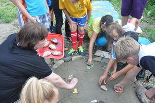 Доброй традицией стало проведение развлекательных мероприятий для детей округа ТОС «Мелькомбинат»