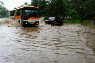 Проливные дожди оставили Уссурийск без урожая и дорог