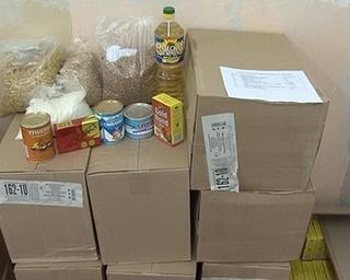 Продуктовый набор для туберкулезных больных выдали 300 уссурийцам