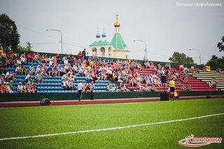 Финальный поединок на Кубок Приморского края по футболу прошёл на стадионе «Локомотив» в Уссурийске