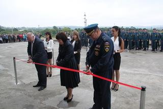 Новая пожарная часть открылась в Уссурийске