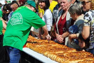 Чудо-пирог отведали жители Уссурийска в День города