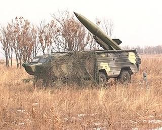На Сергеевском полигоне запустили ракету