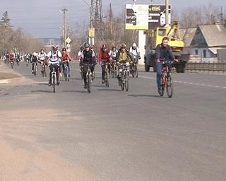 Велопробег памяти Виктора Куца