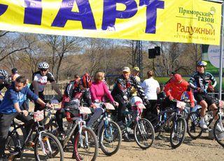 Велогонка среди любителей этого вида спорта прошла под Уссурийском
