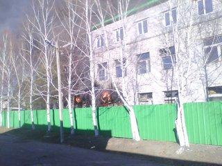 Пожар на складе в Уссурийске потушен