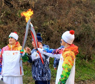 Кикбоксер Александр Захаров из Уссурийска достойно пронес Олимпийский огонь