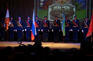 «Голубые береты» отметили 27-летие десантно-штурмовой бригады в Уссурийске