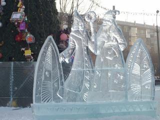 Уссурийск останется без ледовых скульптур на центральной площади в Новый год