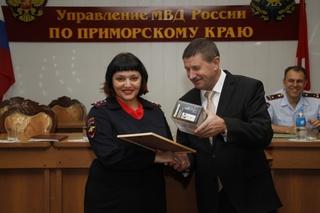 Пресс-секретарь полиции Уссурийска признан лучшим в Приморье