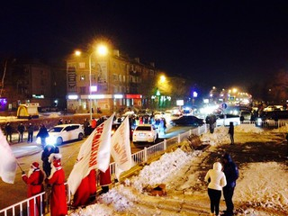 Акцию протеста устроили автомобилисты прямо в центе Уссурийска