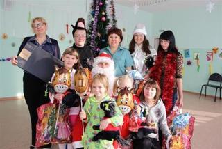 Уссурийская таможня поздравила детяей из социальных учреждений с Новым годом