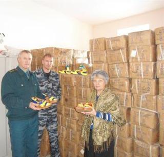Уссурийская таможня передала пострадавшим от наводнения товары на сумму почти 1,5 миллиона рублей