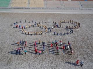 «Олимпийский» флешмоб прошел в Уссурийске