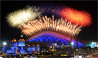 ХХII зимние Олимпийские игры 2014 года стартовали в Сочи. Видео