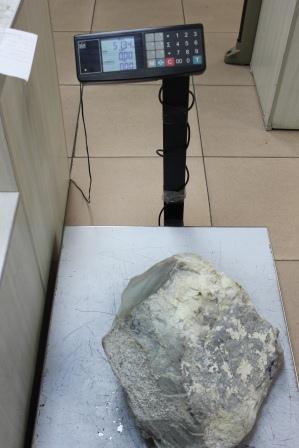 Нефрит стоимостью 2 млн рублей задержали на Уссурийской таможне