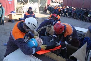 Пожарные Уссурийска заняли 1 место на Чемпионате по проведению спасательных работ