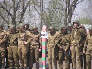 В Уссурийске реконструировали события Великой Отечественной войны