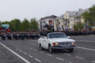 Парад Победы прошел в Уссурийске. Фото и видео