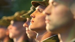 Акцию «День призывника» проводят уссурийские десантники