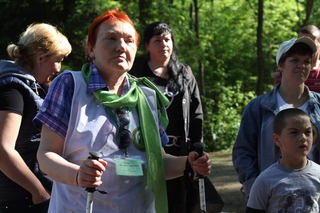 Владивостокцы прогулялись с врачами по Изумрудной долине