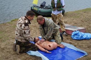 Спасатели провели в Уссурийске учения по спасению утопающих на воде