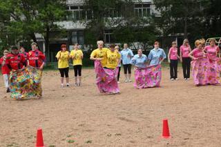 Соревнования среди работников детских садов прошли в Уссурийске