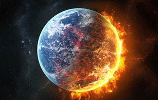 Земля может превратиться в Марс через полтора года