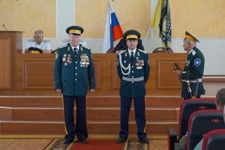 Общественная организация Уссурийского казачьего войска избрала атамана