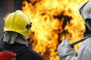Мотоцикл сгорел в Уссурийске
