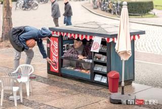 Смелая рекламная кампания от «Coca Cola»