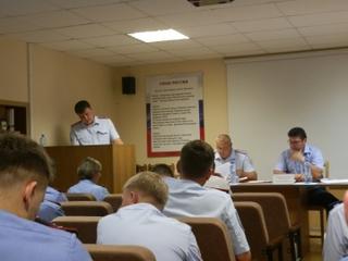 Транспортные полицейские Уссурийска подвели итоги деятельности за первое полугодие 2014 года