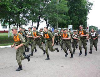 Чемпионат 5-й Краснознамённой общевойсковой армии по марш-броску прошёл в с. Сергеевка