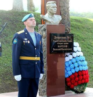 Открытие памятника генералу армии Василию Маргелову состоялось в Уссурийске