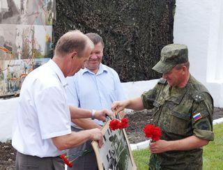 Память советских солдат, воевавших у о. Хасан, почтили в Уссурийске