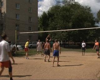 Волейболисты-любители провели матч в честь Дня города