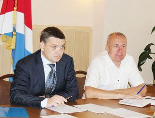 Исполняющий обязанности главы УГО Евгений Корж провёл очередное аппаратное совещание
