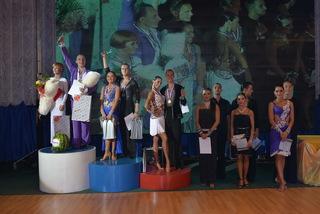 Пара из Уссурийска победила в чемпионате Приморского края по танцевальному спорту