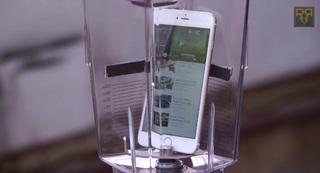 Что произойдет с iPhone 6 Plus в блендере?
