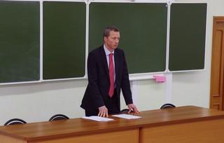 Ректор ДВФУ встретился со студентами Школы педагогики в Уссурийске