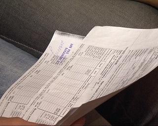 Две квитанции на оплату коммунальных услуг в одну квартиру