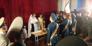 Новый Боевой стяг получила бригада МТО в Уссурийске