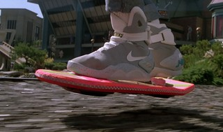 Летающий скейтборд в стиле фильма