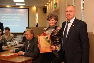 Сборная Уссурийска победила на спартакиаде ветеранов