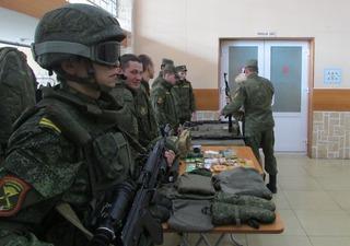 Общегородские проводы в армию прошли в Уссурийске