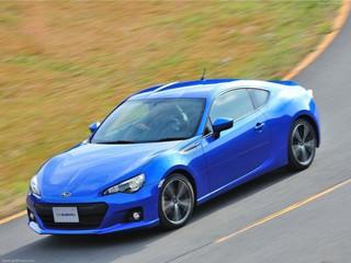Subaru BRZ получил высший балл за безопасность