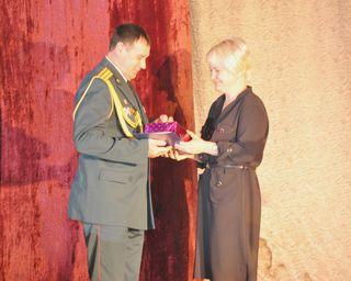 Военнослужащих войсковой части 19288 г. Уссурийска поздравили с годовщиной образования