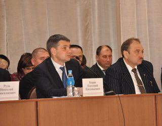 Администрация УГО встретилась с жителями Воздвиженки