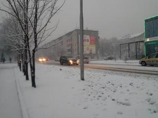 Коммунальные службы Уссурийска приступили к уборке снега